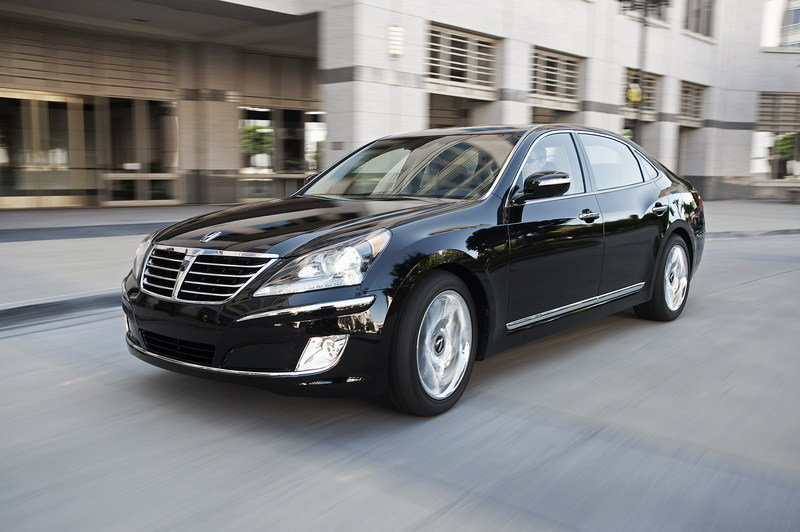 2013 Hyundai Equus High Resolution Exterior - image 460556