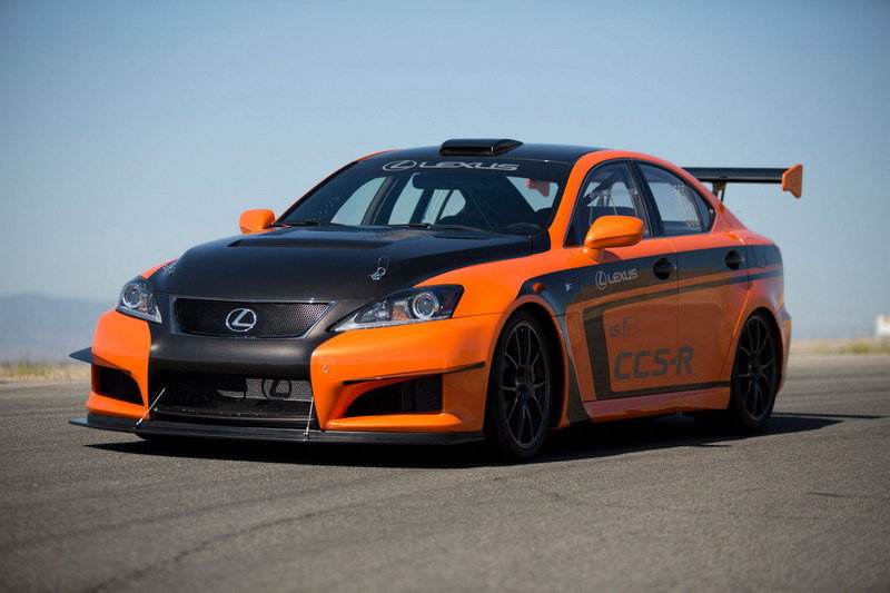 2012 Lexus IS-F CCS-R Race Car