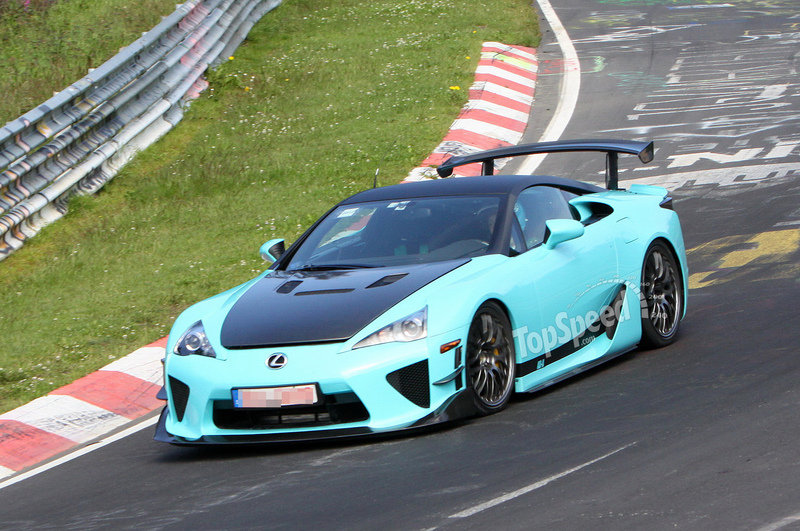 Wild Lexus LF-A caught testing at Nurburgring (UPDATED w/Video)
