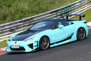 Wild Lexus LF-A caught testing at Nurburgring (UPDATED w/Video) - image 462670