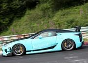 Wild Lexus LF-A caught testing at Nurburgring (UPDATED w/Video) - image 462671