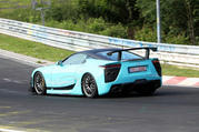 Wild Lexus LF-A caught testing at Nurburgring (UPDATED w/Video) - image 462672