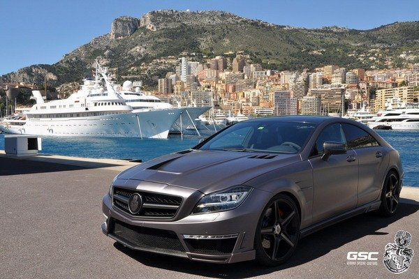 Mercedes CLS 63 AMG Stealth 750 by German Special Customs