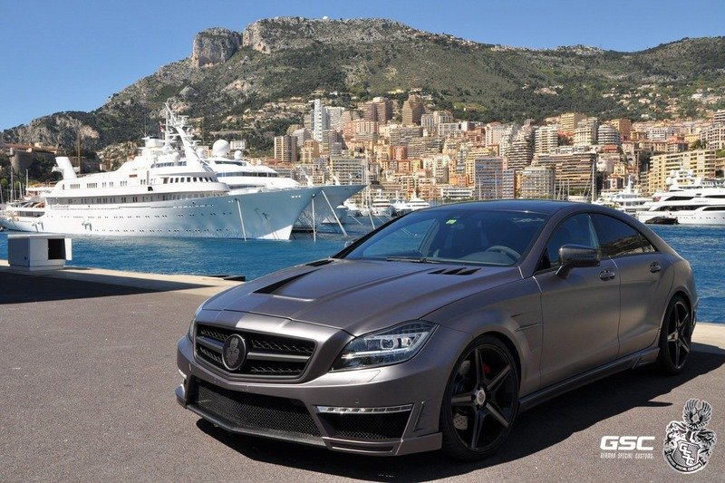 2012 Mercedes CLS 63 AMG Stealth 750 by German Special Customs