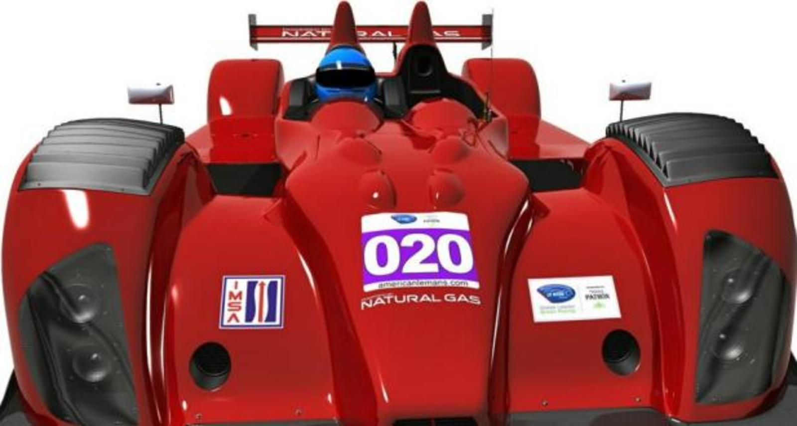 Natural Gas-Powered Cars Coming To 2013 American Le Mans