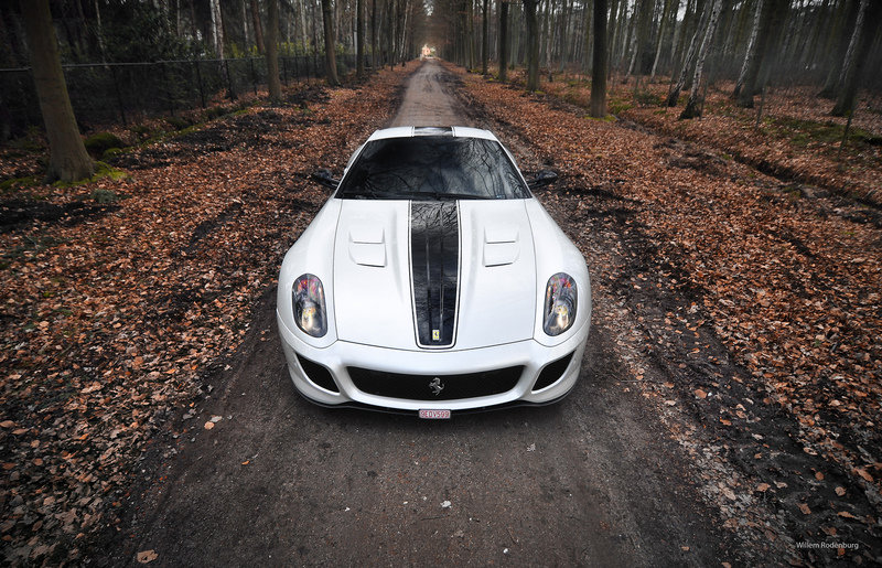 Photo of the Week: Ferrari 599 GTO shot in Belgium