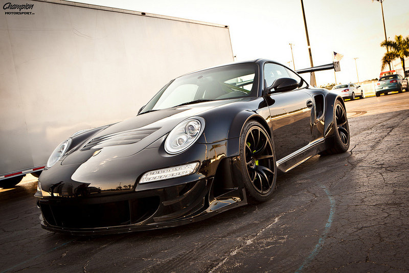 2011 Porsche 911 Turbo S RSR By Champion Motorsport
