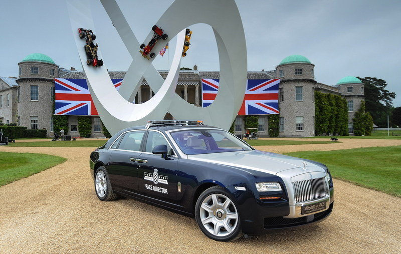 2012 Rolls-Royce Ghost Extended Wheelbase Pace Car