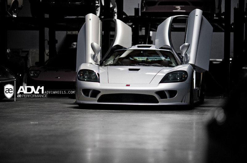 2000 - 2004 Saleen S7 by AE Performance and ADV.1 wheels
