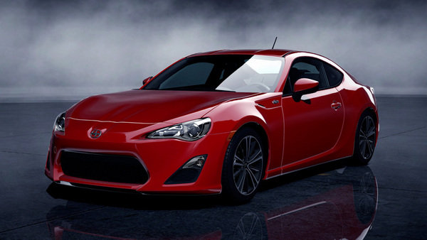 scion fr-s will be offered for free in new gran turismo 5 dlc picture