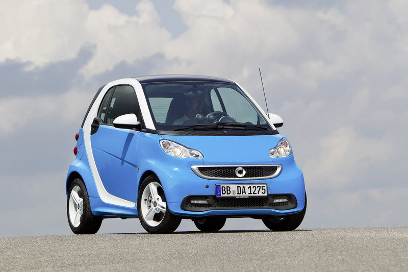 2012 Smart Fortwo Iceshine Edition