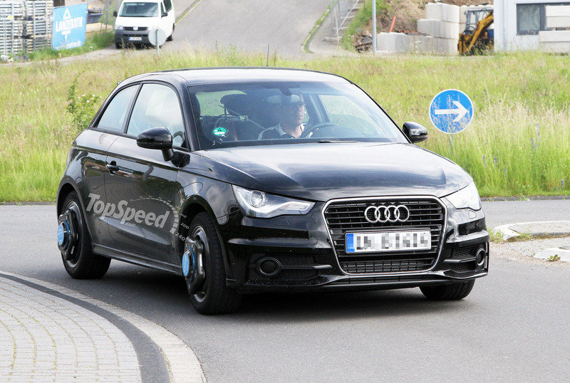 Spy Shots: Is this the Audi S1 testing at Nurburgring?