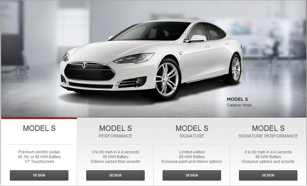 tesla launches model s design studio for custom ordering picture