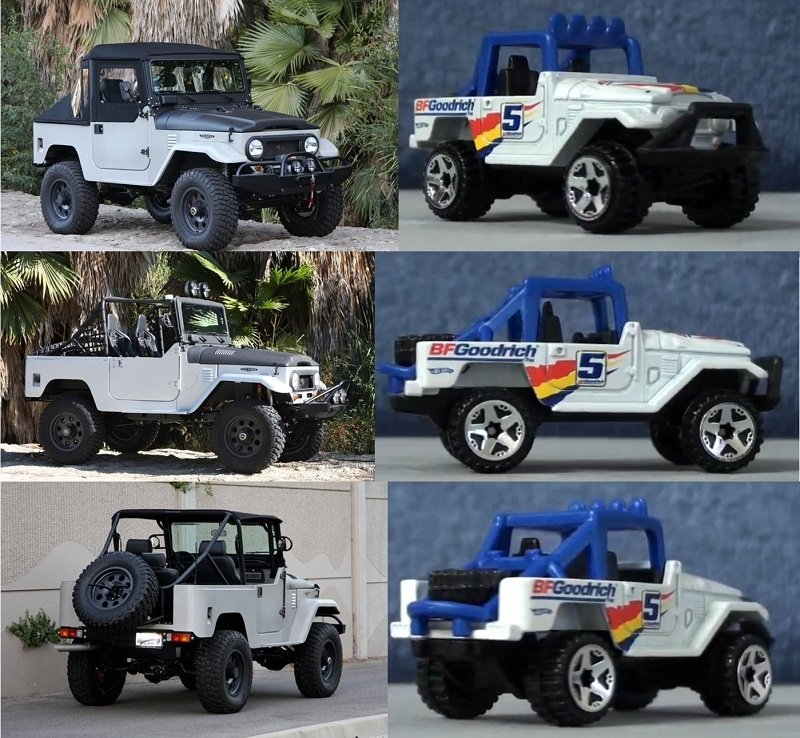 Vehicular Court: Icon Accuses Hot Wheels of Ripping Off FJ40 Design