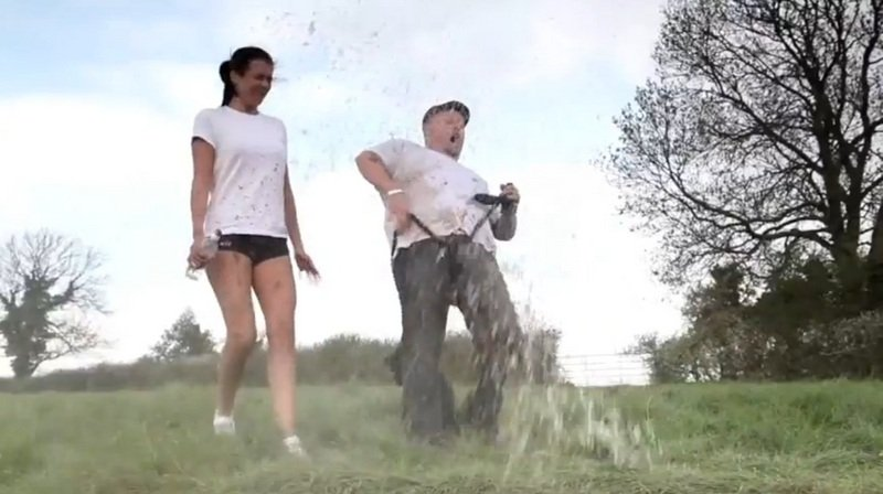 Video: Duxcoat Ruined our Wet T-Shirt Fun