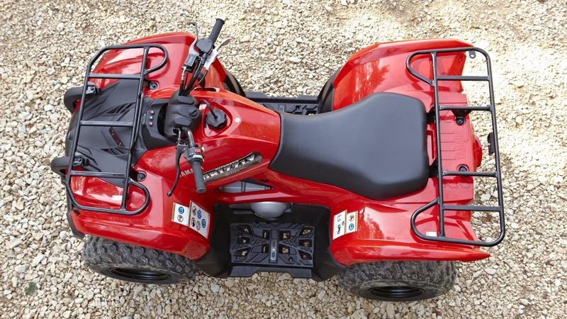 2013 Yamaha Grizzly 300   Top Speed
