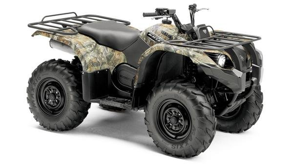 Yamaha Grizzly  Eps Top Speed