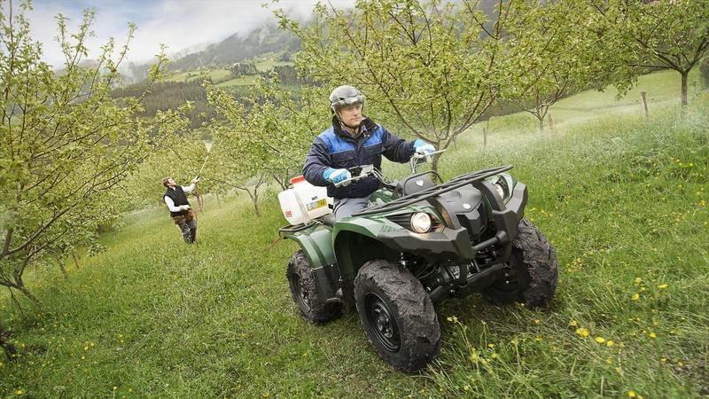 2013 Yamaha Grizzly 450 IRS