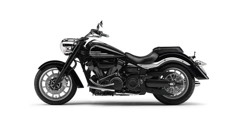 2012 Yamaha XV1900A Midnight Star High Resolution Exterior - image 458897