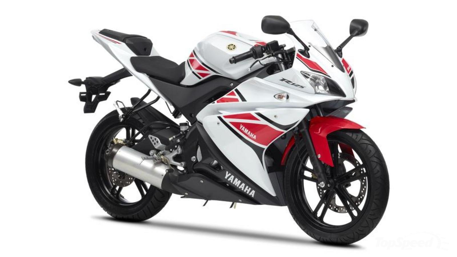 2012 yamaha yzf r125 wgp 50th anniversary review top speed. Black Bedroom Furniture Sets. Home Design Ideas