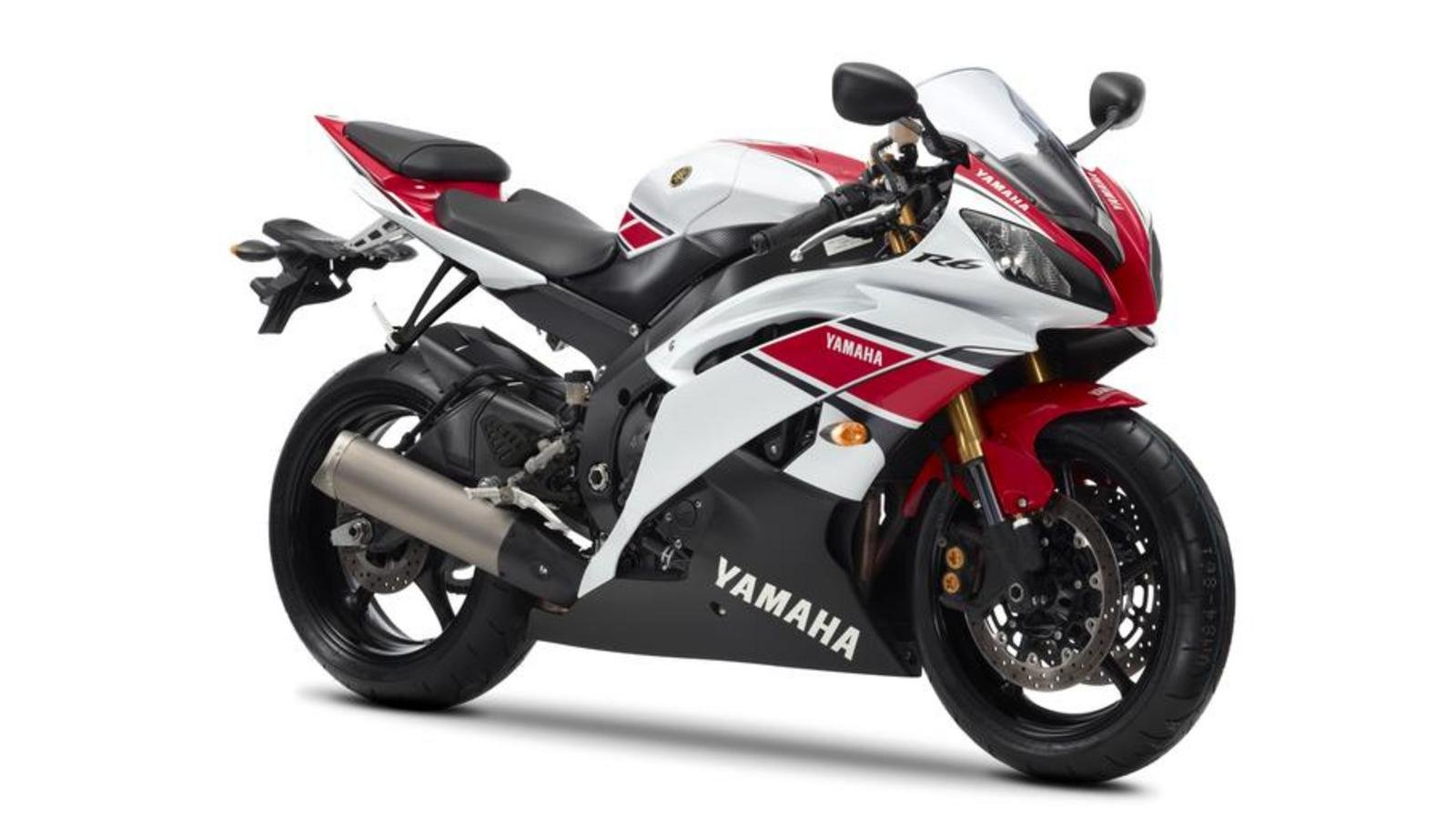 2012 yamaha yzf r6 wgp 50th anniversary review top speed. Black Bedroom Furniture Sets. Home Design Ideas