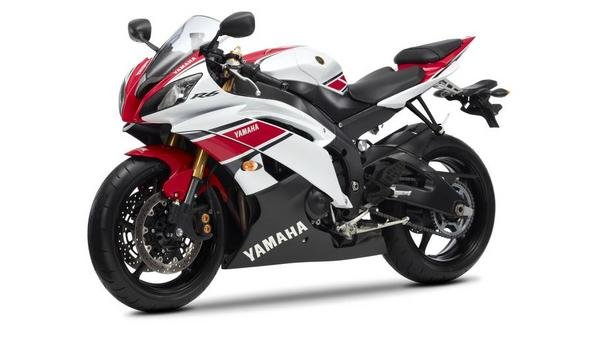 2012 yamaha yzf r6 wgp 50th anniversary motorcycle review top speed. Black Bedroom Furniture Sets. Home Design Ideas