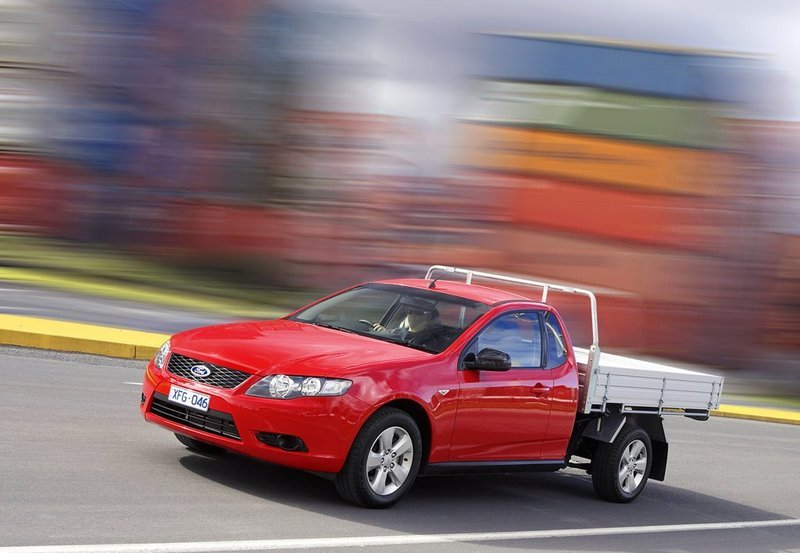 2008 Ford FG Falcon Ute High Resolution Exterior - image 466795