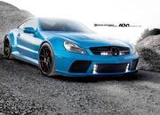 Mercedes-Benz SL65 AMG Black Series by ADV.1 wheels