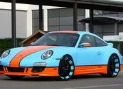 "Porsche 911 ""Gulf Racing"" by Oxigin"