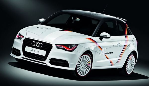 2012 audi a1 e tron german olympic team edition car review top speed. Black Bedroom Furniture Sets. Home Design Ideas