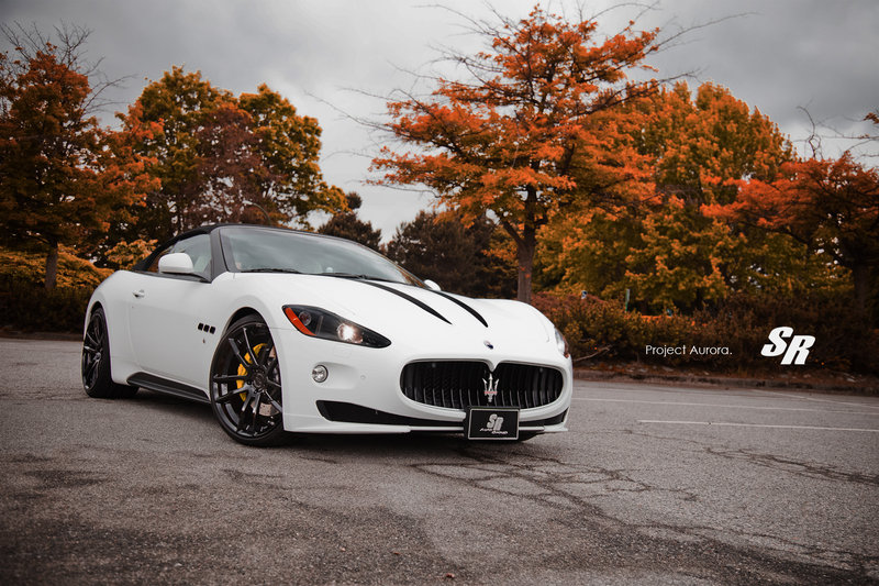 "2012 Maserati GranTurismo MC Stradale ""Project Aurora"" by SR Auto Group"