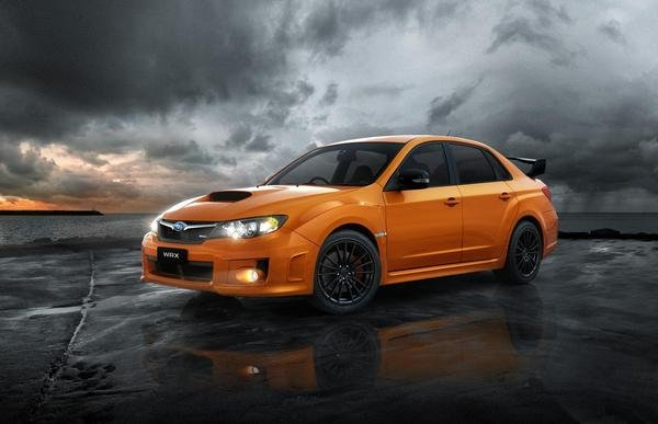 subaru impreza wrx club spec edition picture