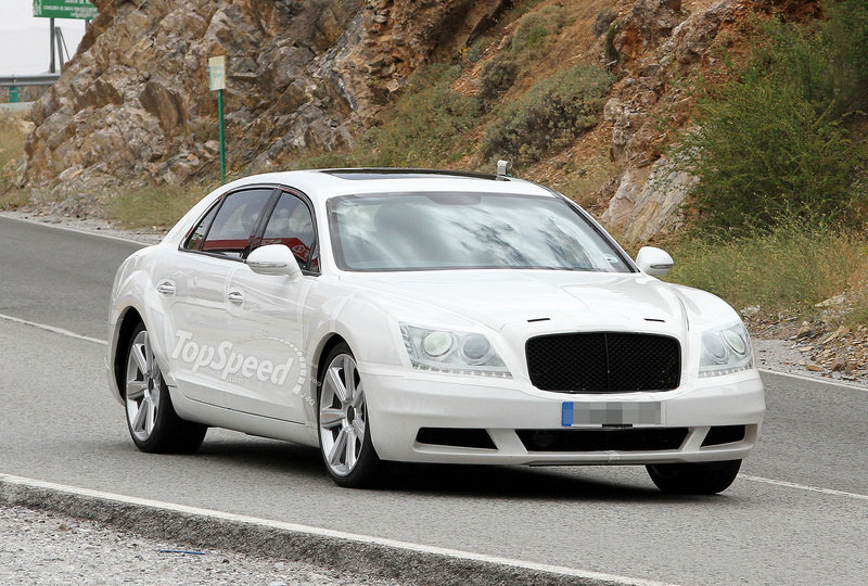Spy Shots: 2014 Bentley Continental Flying Spur starts testing