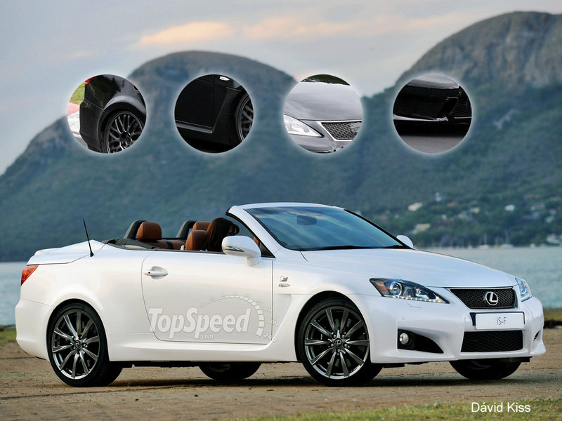 TopSpeed Rendering: 2013 Lexus IS-F Convertible