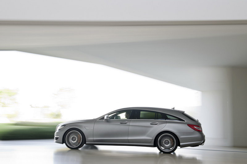 2013 Mercedes CLS 63 AMG Shooting Brake High Resolution Exterior - image 464636