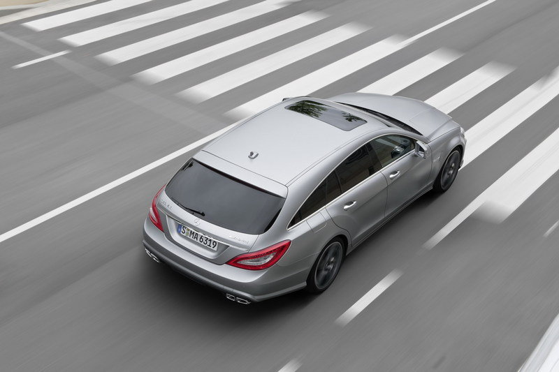 2013 Mercedes CLS 63 AMG Shooting Brake High Resolution Exterior - image 464638