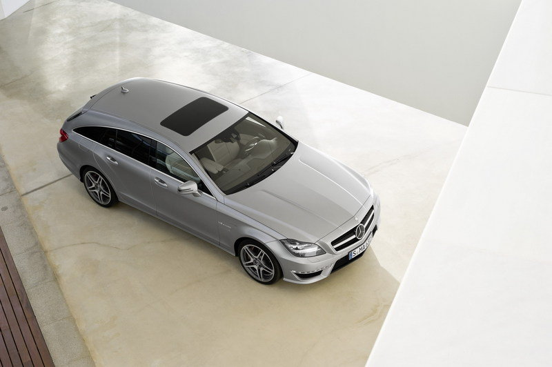 2013 Mercedes CLS 63 AMG Shooting Brake High Resolution Exterior - image 464639