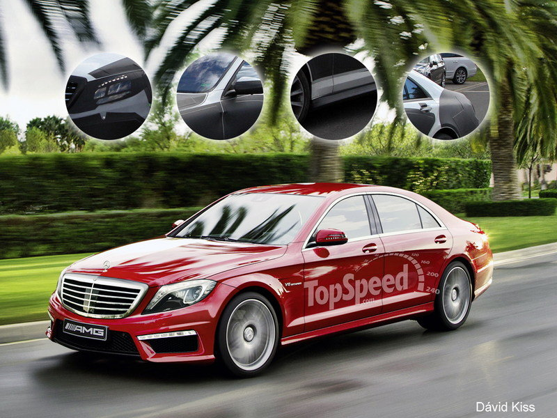 2014 Mercedes-Benz S63 AMG 4MATIC Exclusive Renderings - image 464302