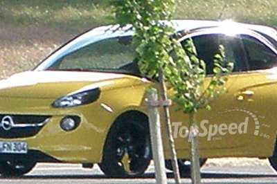 Spy Shots: New Opel Adam caught during photoshoot in Spain