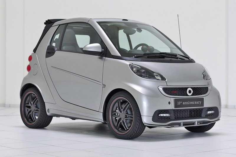 2013 Smart Fortwo Brabus 10th anniversary