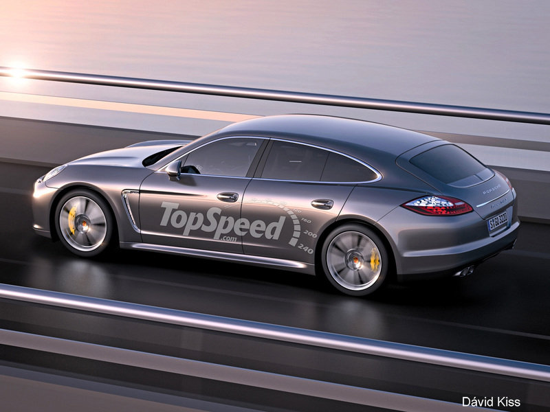 2018 Porsche Panamera Sport Turismo Exterior Exclusive Renderings Computer Renderings and Photoshop - image 466105