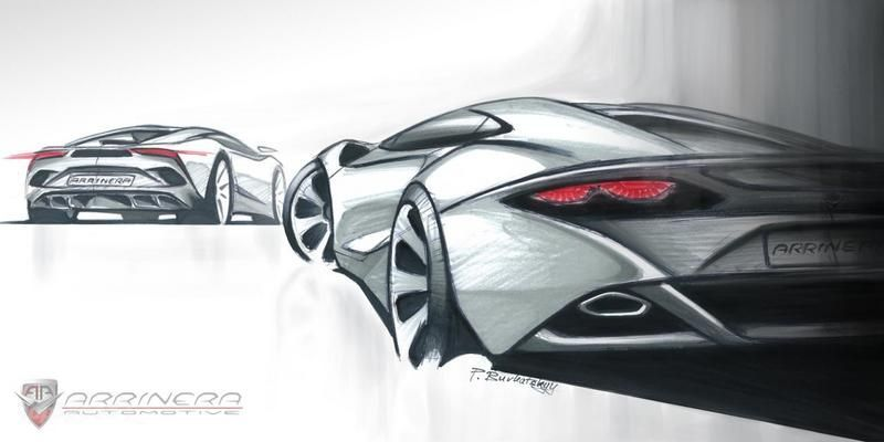 Arrinera releases first sketches of production Venocara supercar