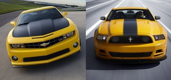 2017 Ford Mustang vs. 2017 Chevrolet Camaro: Compare Cars