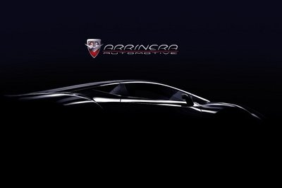 From Sketching to Teasing: Arrinera releases first teasers of production supercar