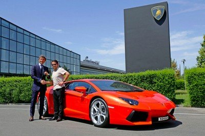 Lamborghini builds 1000th Aventador