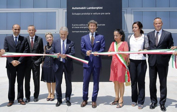 lamborghini opening a prototype and concept development center picture
