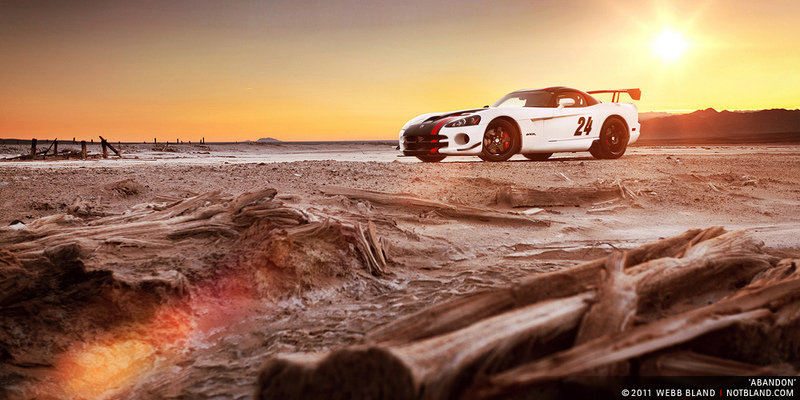 Photo of the Week: 2009 Dodge Viper ACR in the Mojave Desert