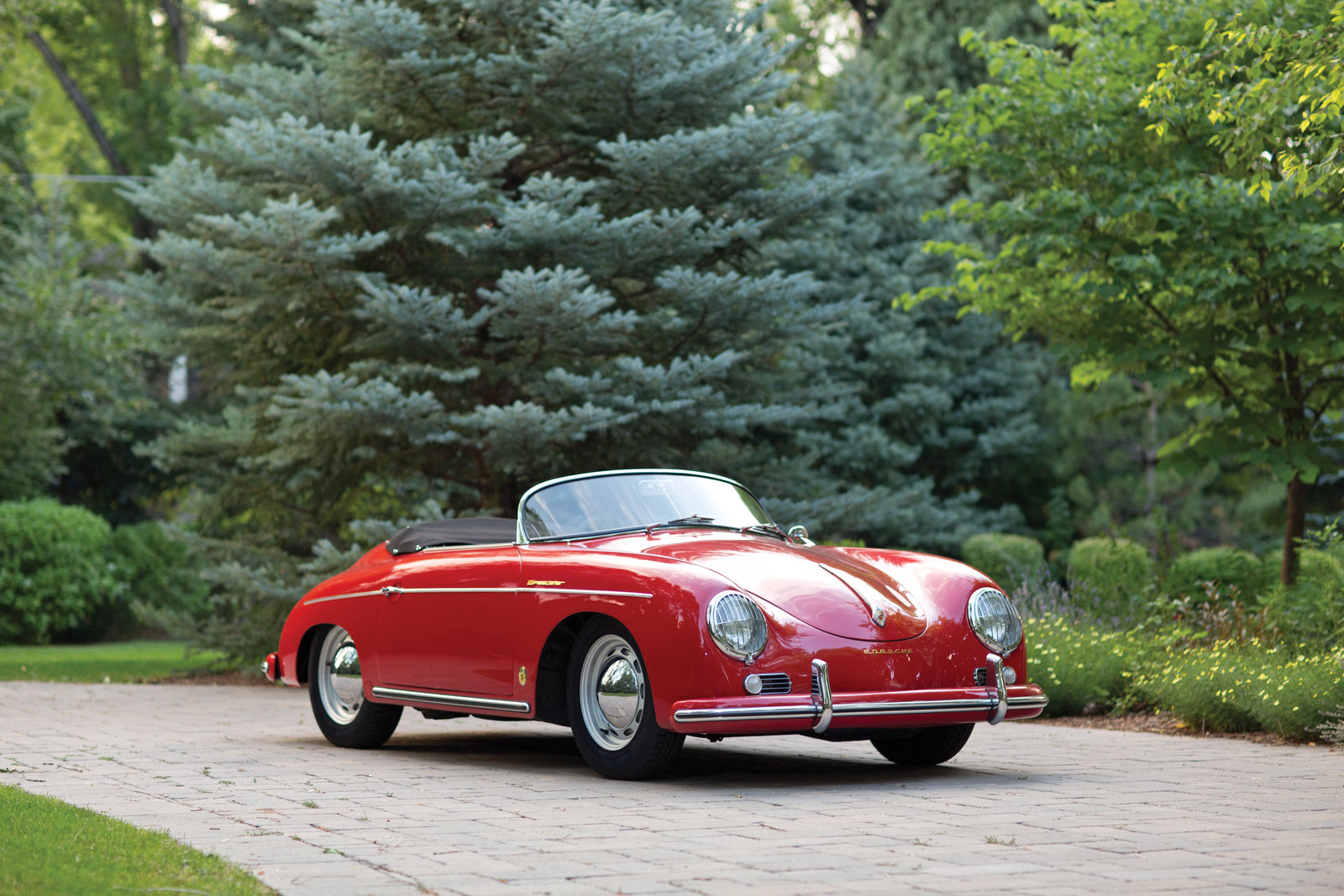 1957 Porsche 356a 1600 Sportster Top Speed
