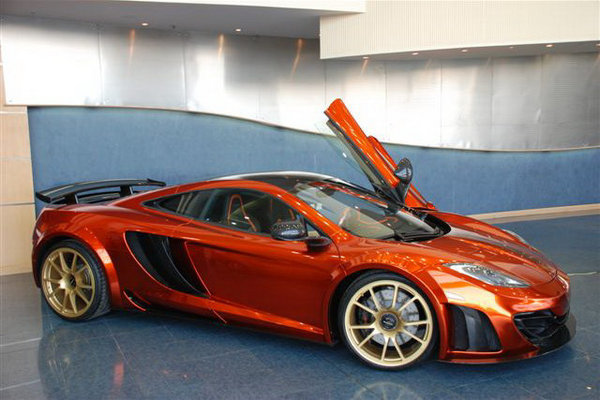 rare 2012 mclaren mp4-12c by mansory for sale in abu dhabi picture