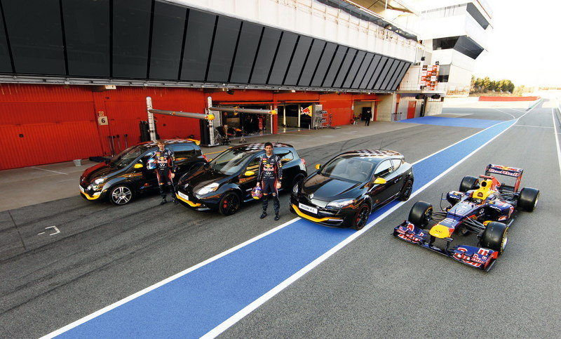 2012 Renault Megane RS Red Bull Racing Edition